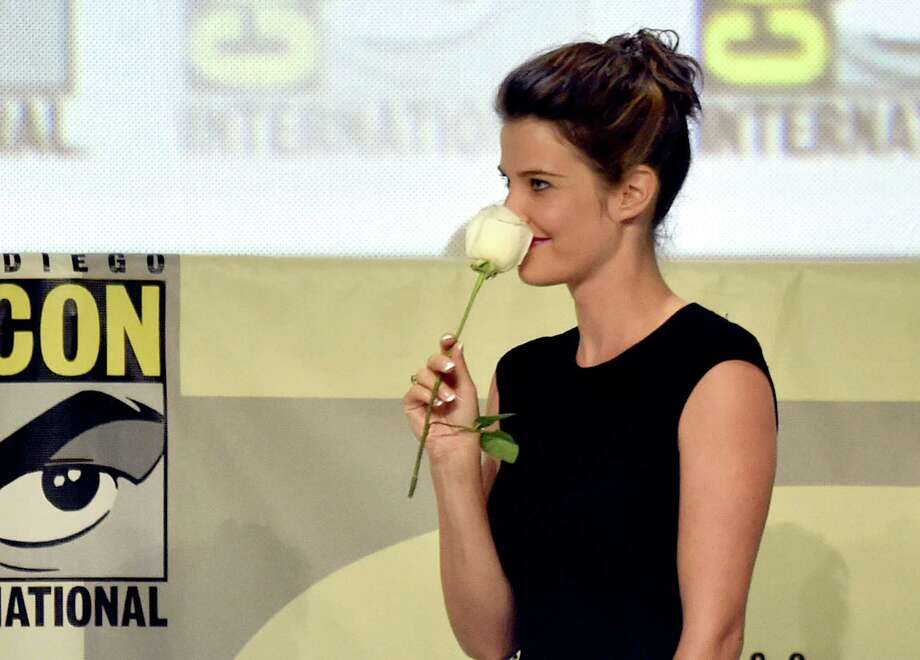 SAN DIEGO, CA - JULY 26:  Actress Cobie Smulders attends the Marvel Studios panel during Comic-Con International 2014 at San Diego Convention Center on July 26, 2014 in San Diego, California. Photo: Kevin Winter, Getty Images / 2014 Getty Images