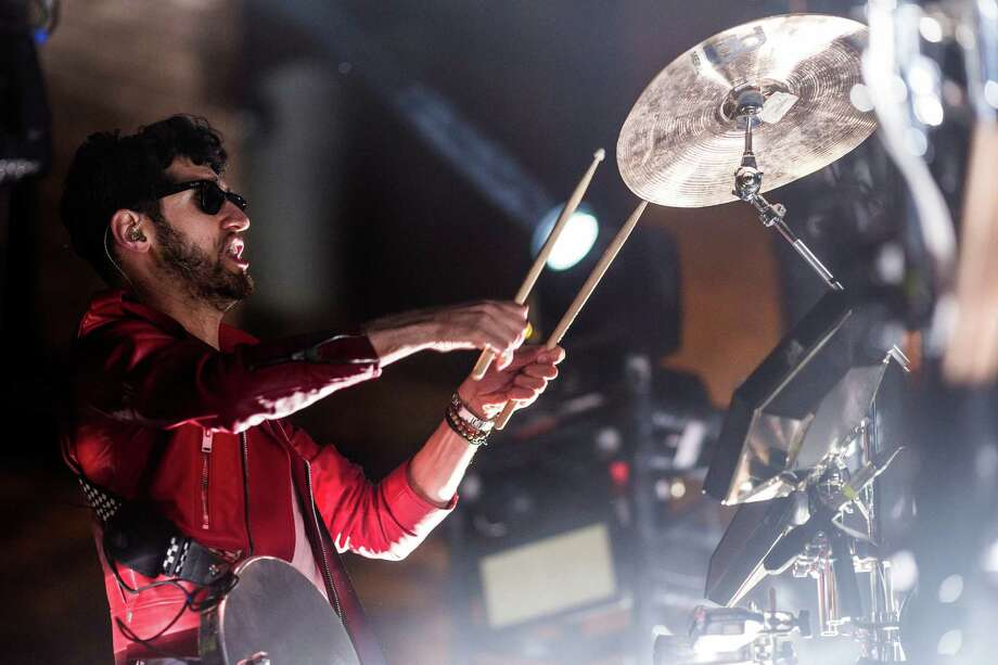 Chromeo performs for thousands from their spot on the main stage on the second of three days of the annual Capitol Hill Block Party Saturday, July 26, 2014, in Seattle, Wash. Spanning six blocks of the Seattle neighborhood, the festival features local and nationally acclaimed bands on six different stages. Photo: JORDAN STEAD, SEATTLEPI.COM / SEATTLEPI.COM