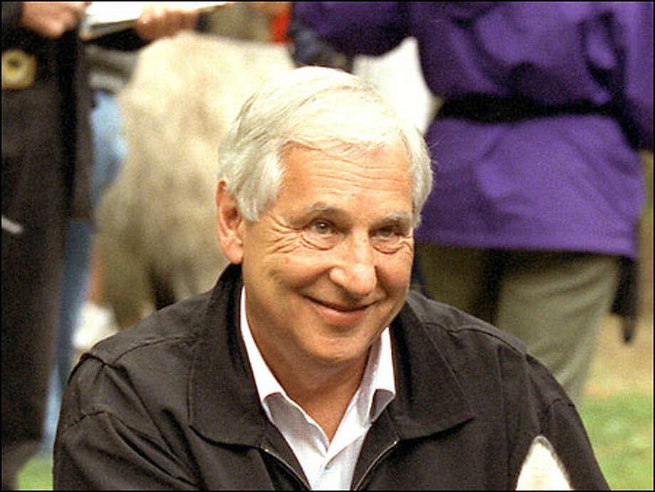 Former Seattle Mayor Paul Schell. / Seattle Post-Intelligencer
