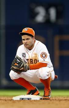 July 27: Marlins 4, Astros 2  Jose Altuve's lead-off HR wasn't enough to avoid the sweep by the Marlins on Sunday afternoon.  Record: 42-63. Photo: Karen Warren, Houston Chronicle