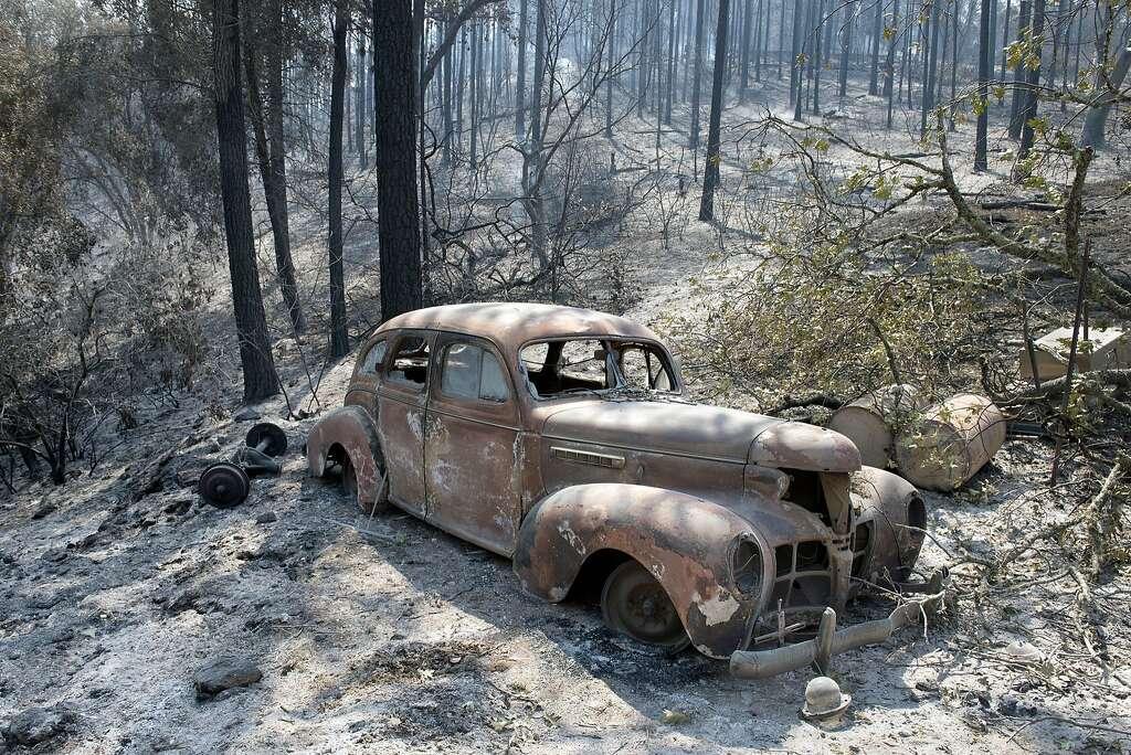 Sierra Foothills Fire Burns Homes Yosemite Fire Grows Sfgate