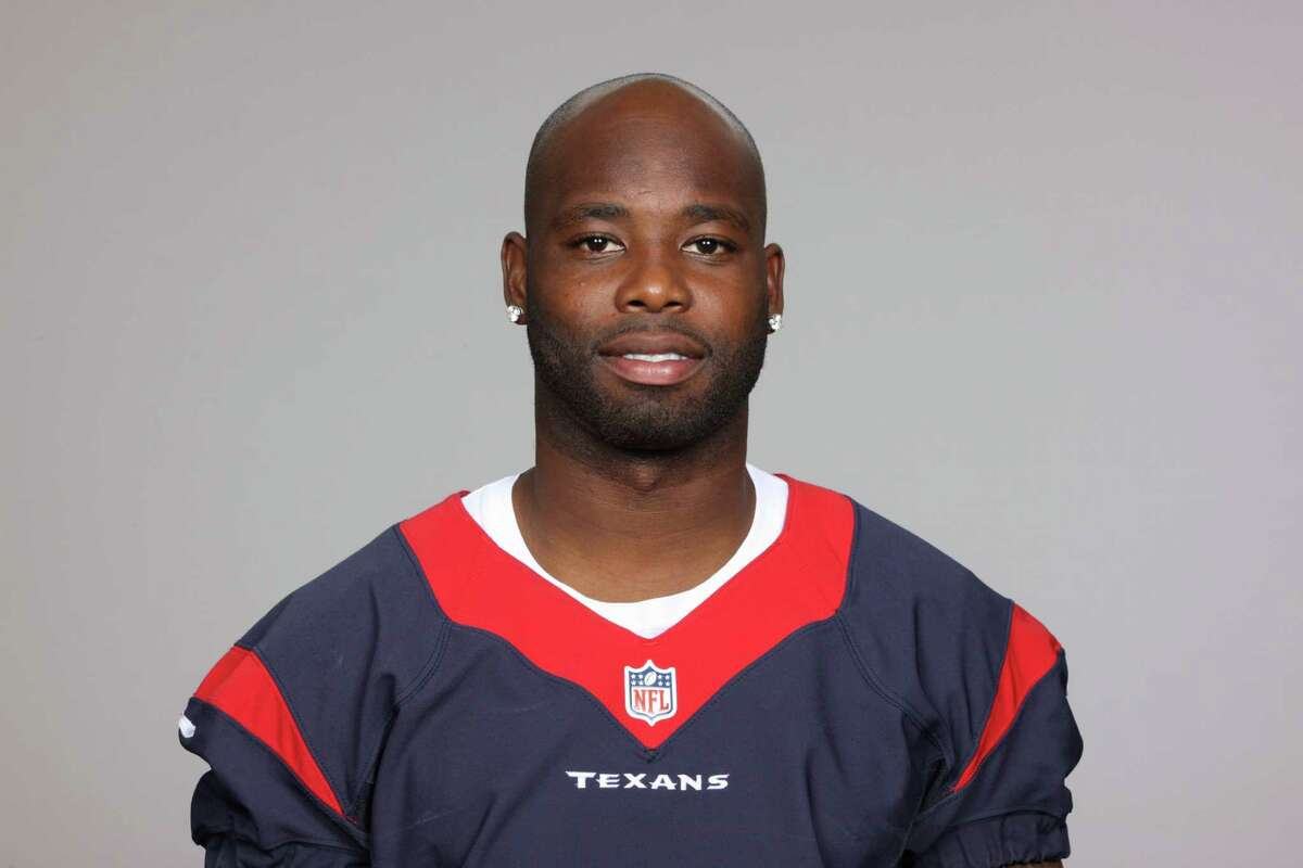 This is a 2013 photo of Johnathan Joseph of the Houston Texans NFL football team. This image reflects the Houston Texans active roster as of Thursday, June 20, 2013 when this image was taken. (AP Photo)