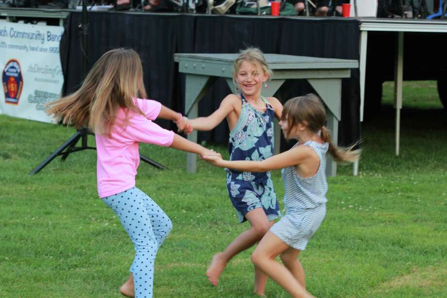 Greenwich hosts a number of outdoor concerts throughout the summer at 