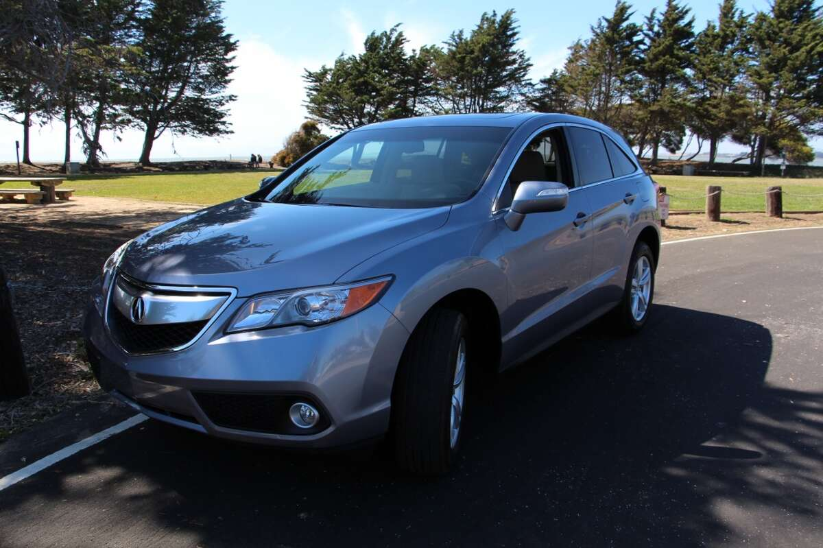 The 2015 Acura RDX compact luxury SUV, an upscale Honda product that fares well against the competition. (All photos by Michael Taylor)