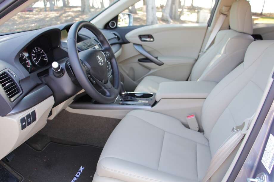 The front seats: the 8-way powered driver's seats offers all the positions you'll need; less so for the 4-way powered front passenger seat, which has no up-and-down facility. Short people want to see out the windows, too.