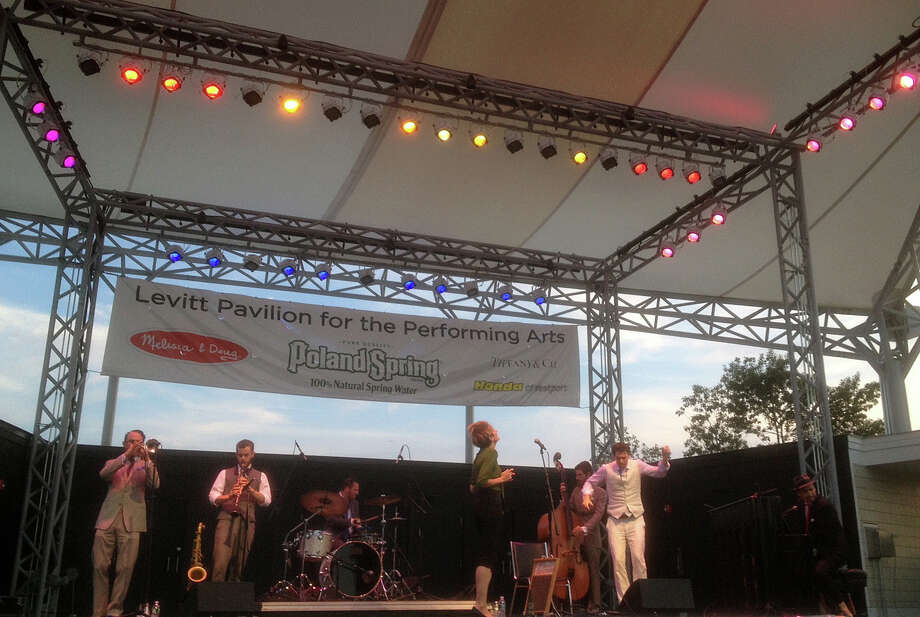 The Hot Sardines entertained Sunday night at the Levitt Pavilion. Photo: Contributed Photo / Westport News