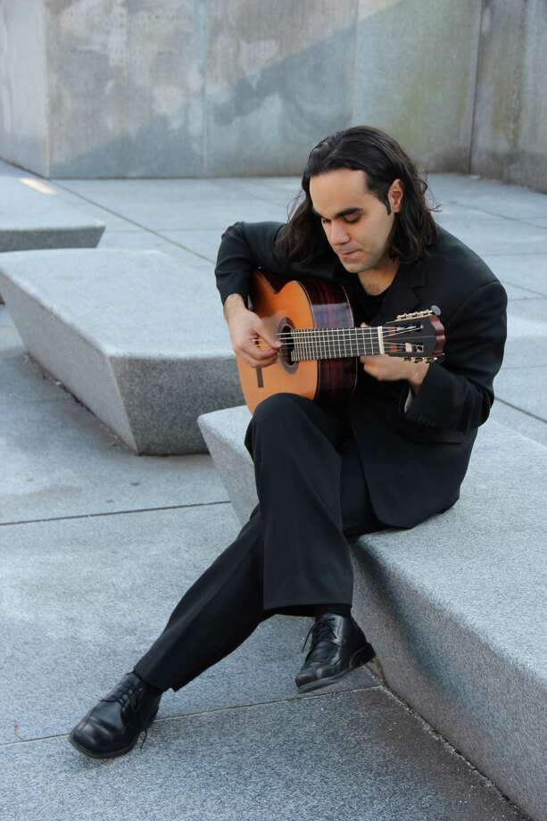 Arash Noori, a guitarist based in New Haven, will join fellow guitarist Trevor Babb, for a performance Sunday morning in Stamford. Find out more. Photo: Contributed Photo / Stamford Advocate Contributed photo