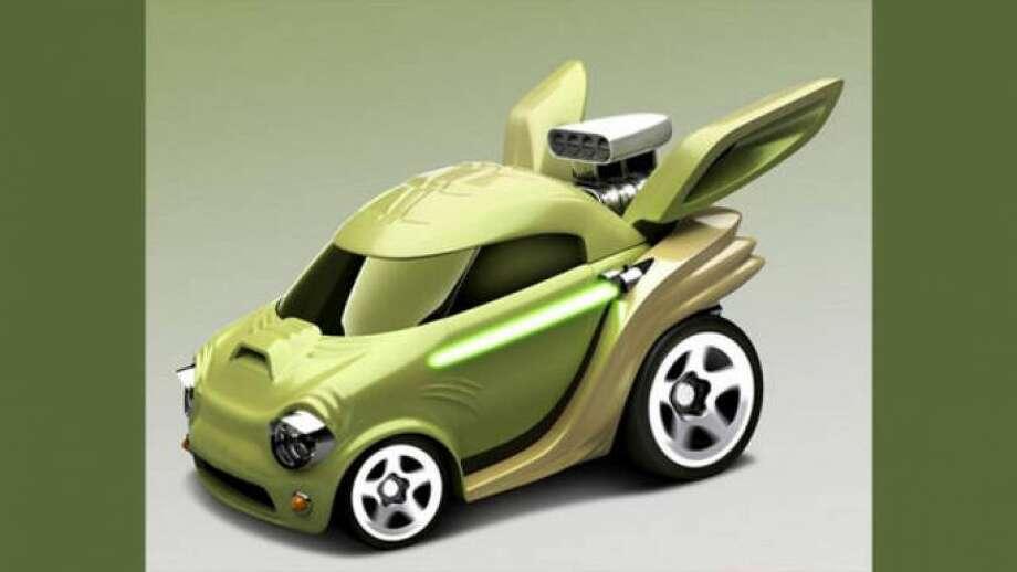 The Yoda car Photo: Mattel