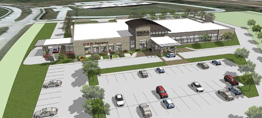 Memorial Hermann Katy Hospital will build a convenient care center on the corner of the Grand Parkway and the Westpark Tollway. Photo: Memorial Hermann