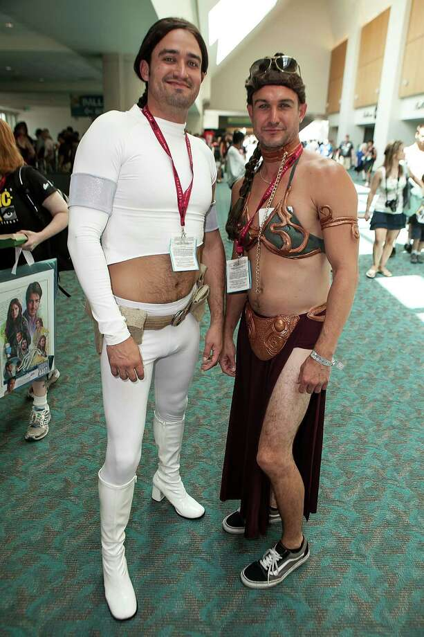*BONUS*We aren't sure what to do with this, but we needed to share it with you. Enjoy.Keep clicking for more interesting looks from Comic-Con International 2014. Photo: Gabriel Olsen, Getty / 2014 Gabriel Olsen