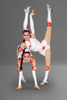 AMERICA'S GOT TALENT -- Season 9 -- Pictured: Contortion Sisters -- (Photo by: Virginia Sherwood/NBC) Photo: NBC, Virginia Sherwood/NBC / 2014 NBCUniversal Media, LLC.