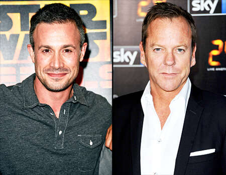 """Freddie Prinze Jr. vs. Kiefer Sutherland: In an interview with ABC News, Prinze Jr reportedly threw shade at this '24' costar: """"I did '24,' it was terrible,"""" he said. """"I hated every moment of it. Kiefer was the most unprofessional dude in the world. That's not me talking trash, I'd say it to his face, I think everyone that's worked with him has said that."""""""