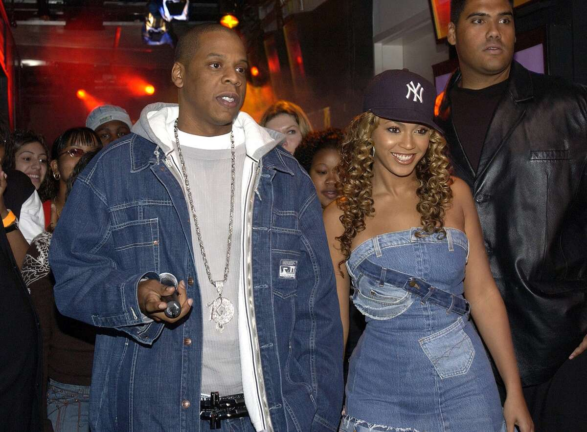 """1997-2000The Beginning It seems 1998 was THE year for Jayonce. For Beyonce, that was the year 'No, No, No' put Destiny's Child on the radar. It was also the same year Jay Z made a name for himself with his song 'Hard Knock Life (Ghetto Anthem).' Though there is some speculation as to when Beyonce and Jay Z actually began dating, it is generally accepted that the pair got together in the 1999-2000 time frame. But, really, who knows? The couple is notorious for staying mum about the details of their private lives.The rumor mill was definitely underway when the two partnered up for Jay Z's 2002 hit ''03 Bonnie & Clyde.' Sing it, everybody: """"All I need in this life of sin is me and my girlfriend."""""""
