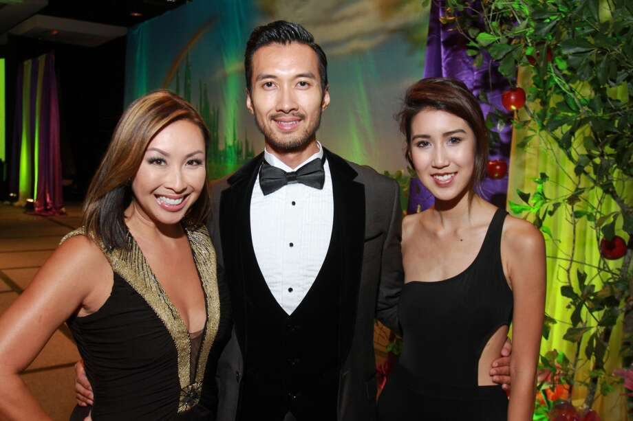 Lily Jang, from left, John Newinn and Shelly Vo Photo: Gary Fountain, For The Chronicle