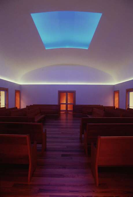 James Turrell's Skyspace at the Live Oak Friends Meeting House. Photo: Smiley N. Pool, Staff / Houston Chronicle