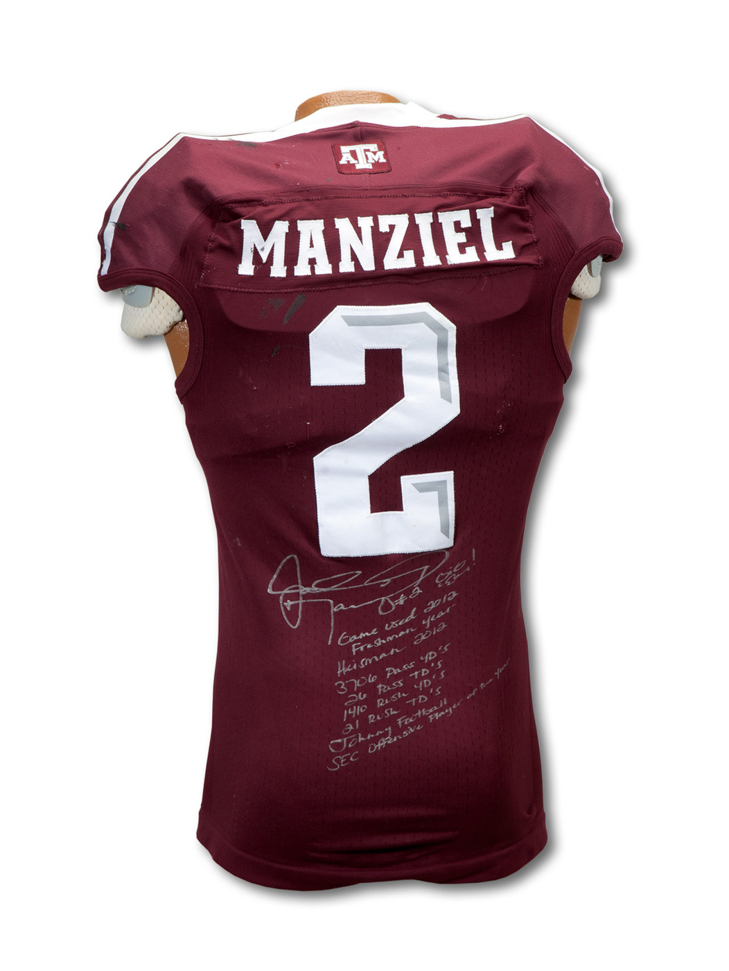 Johnny Manziel football jersey expected to crush record in auction ...