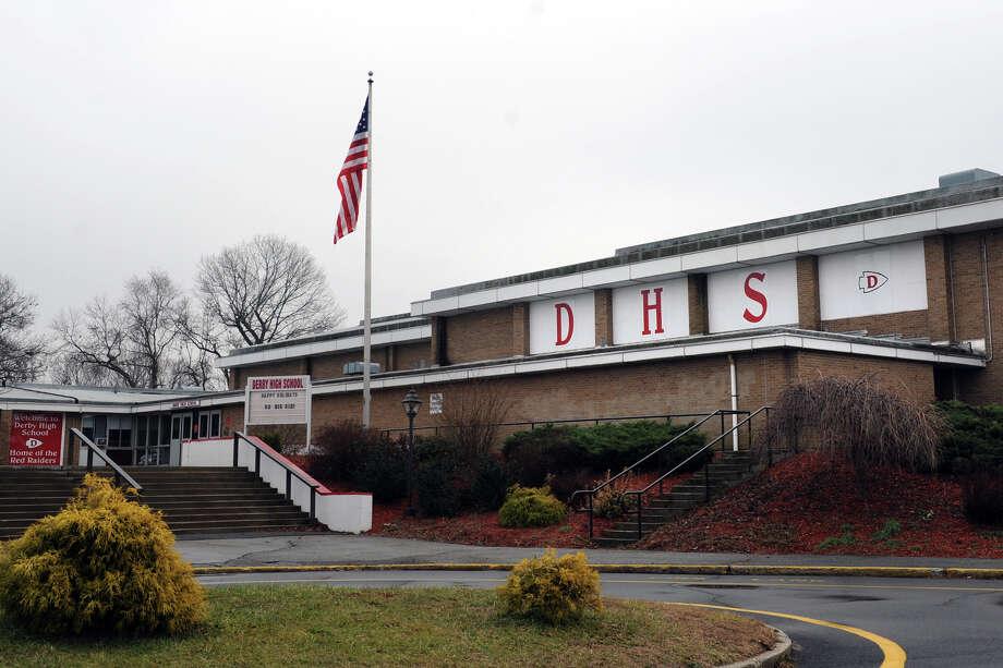Derby High School in Derby, Conn. Photo: Autumn Driscoll / Connecticut Post