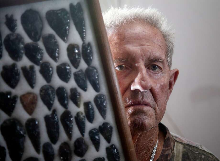Norman Starks, 76, is under investigation that he illegally dug up Native American artifacts Photo: Don Kelsen, McClatchy-Tribune News Service