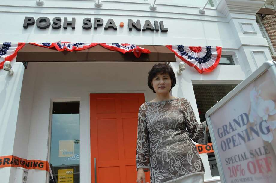 Diana Su, owner of Posh Nail & Spa, opened her third Fairfield County location, at 1077 Boston Post Road in Darien. Jarret Liotta/For the Darien News Photo: Contributed Photo, Contributed / Darien News