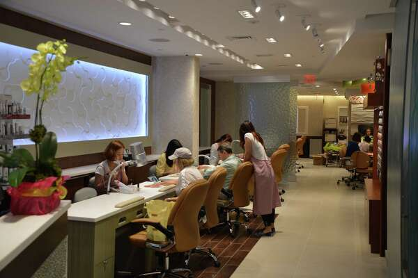 Posh Nail & Spa at 1077 Boston Post Road in Darien offers manicures, pedicures, facials and more. Jarret Liotta/For the Darien News