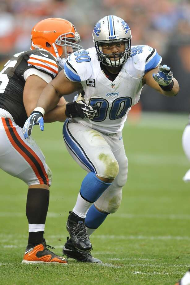 Detroit's Ndamukong Suh is the highest-paid defensive lineman in the NFL and will make $12.5 million this season. Photo: David Richard, Associated Press