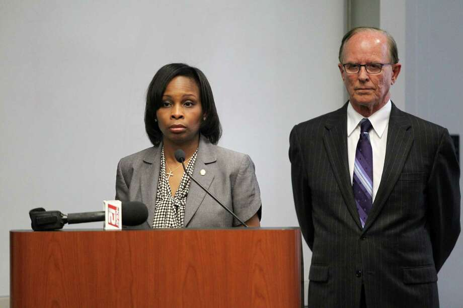 Bexar County Judge Nelson Wolff and Mayor Ivy Taylor discuss the decision to scrap the streetcar proposal during a news conference. Taylor called for $32 million the city had pledged to the VIA streetcar plan to be redirected to other city projects. Our readers react to the news. Photo: Timothy Tai, San Antonio Express-News / © 2014 San Antonio Express-News