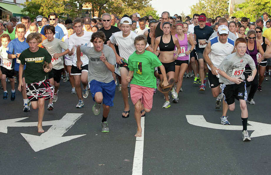 The sixth annual All Out for Autism 5k walk/run will be held Friday, Aug. 22. All proceeds from the event benefit programs and events for children with special needs at the New Canaan YMCA. Photo: Contributed Photo, Contributed / New Canaan News Contributed
