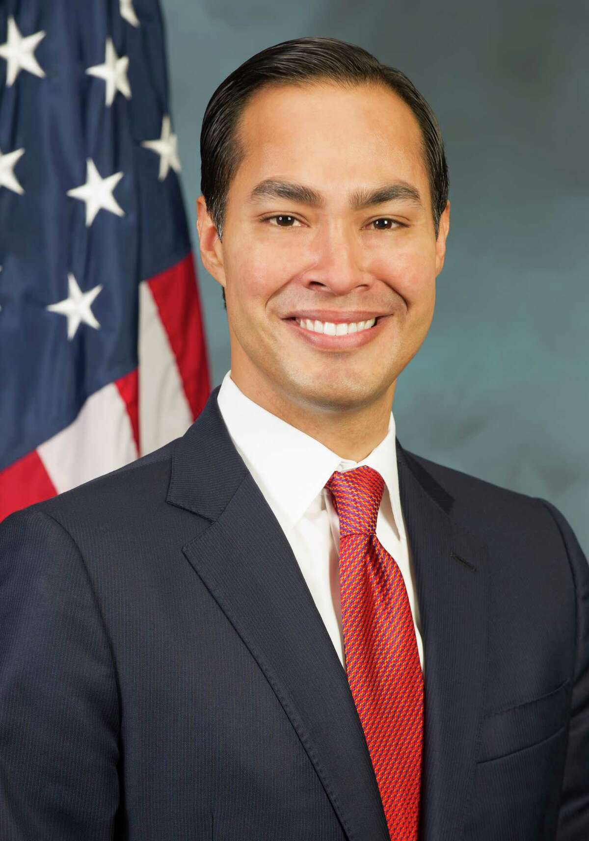 Julián Castro is seen Monday July 28, 2014 in his first official portrait as the Housing and Urban Development Secretary.
