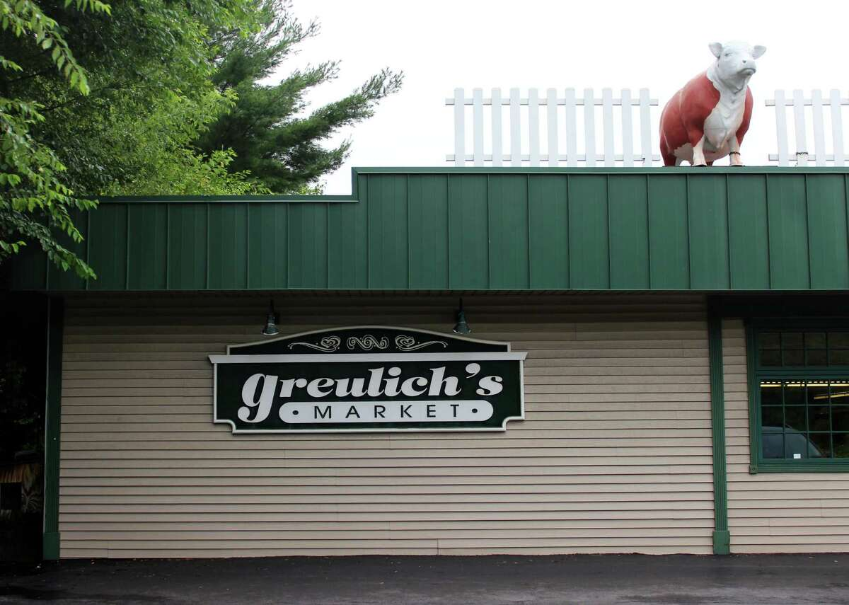 Exterior of Greulich?s Market on Monday morning, July 28, 2014 in Guilderland N.Y. (Selby Smith/Special to the Times Union))