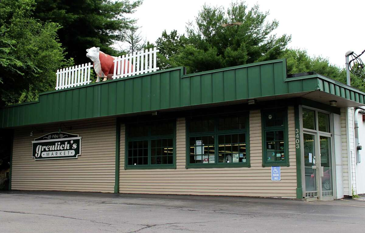 Exterior of Greulich?s Market on Monday morning, July 28, 2014 in Guilderland N.Y. (Selby Smith/Special to the Times Union)