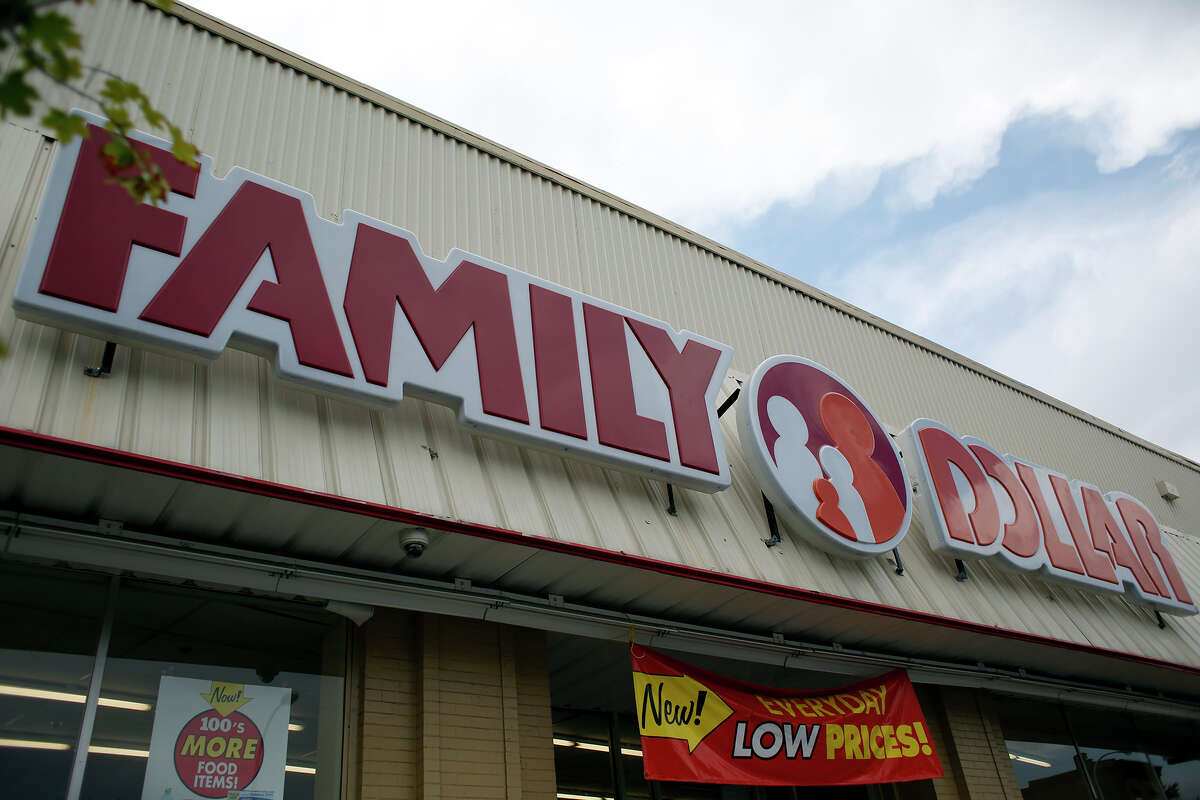 Exterior of a Family Dollar Store Monday, July 28, 2014, on Central Ave. in Albany, N.Y. Dollar Tree reached an agreement to buy the Family Dollar chain for $8.5 billion in cash and stock. (Tom Brenner/ Special to the Times Union)