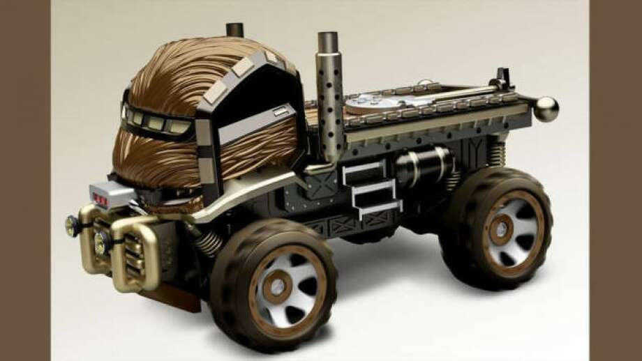 The Chewbacca car Photo: Mattel