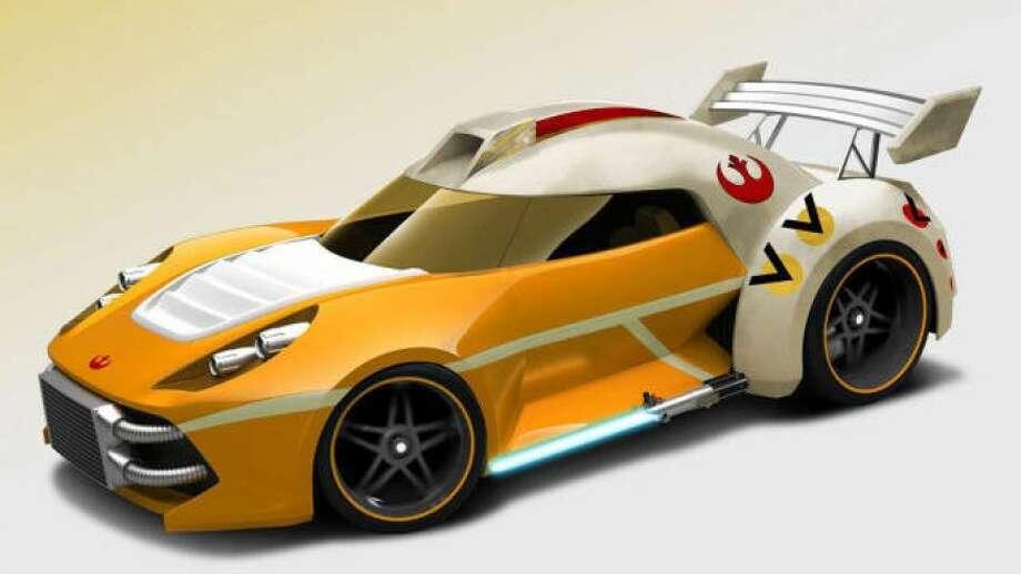 The Luke Skywalker car Photo: Mattel