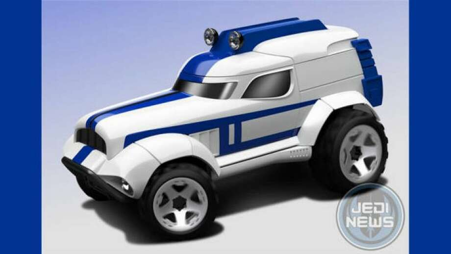 The Storm Trooper car Photo: Mattel