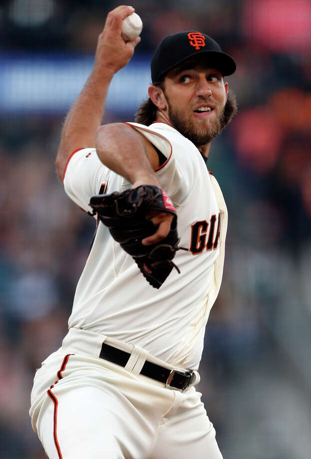 Madison Bumgarner hasn't started a winner-take-all game since high school, but he has the strong endorsement of at least two of his rotation mates. Photo: Scott Strazzante / The Chronicle / ONLINE_YES