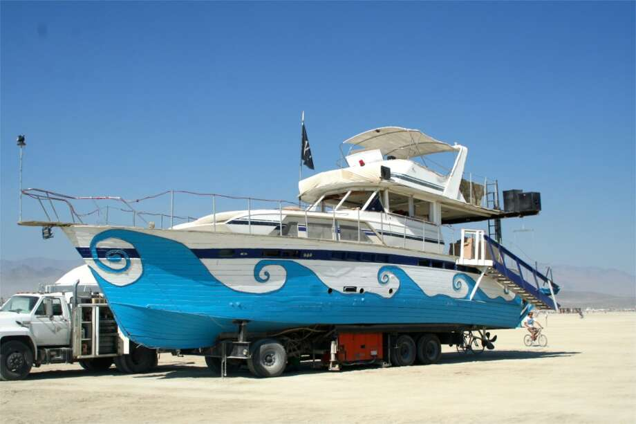 A classic, a favorite. Beauties like this have been cruising the playa since the Floating World theme way back in 2002.