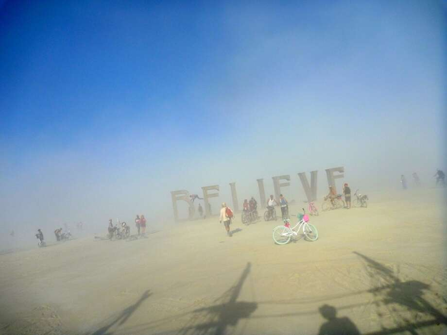 Believe, as viewed (and snapped) from a pirate ship (see shadow in foreground). Your author is in the hat.