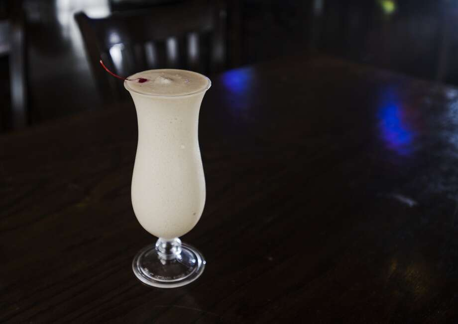 Pictured is the Bushwhacker, a cocktail available from the Neches River Wheelhouse. The Neches River Wheelhouse is the Cat5 Bar of the Week for July 24, 2014. Photo taken Tuesday 7/15/14 Jake Daniels/@JakeD_in_SETX