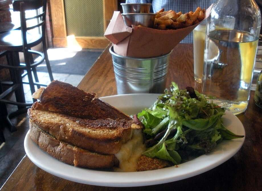 Grilled cheese at Caseus in New Haven. Photo: Eileen Fischer, Connecticut Post
