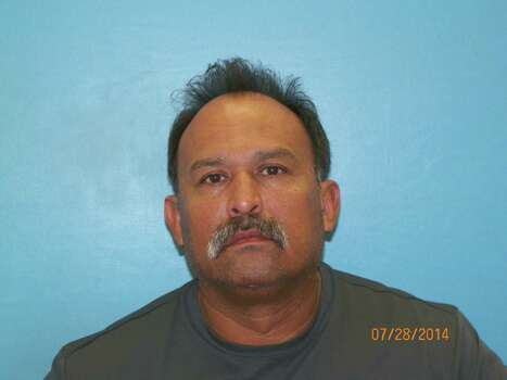 Reynaldo Salazar, 48, charged with possession of a controlled substance Photo: Guadalupe County Jail Records, Courtesy