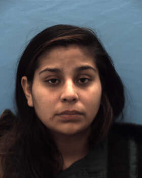 Francheska Gonzales, 23, charged with manufacture or delivery of a controlled substance Photo: Guadalupe County Jail Records, Courtesy