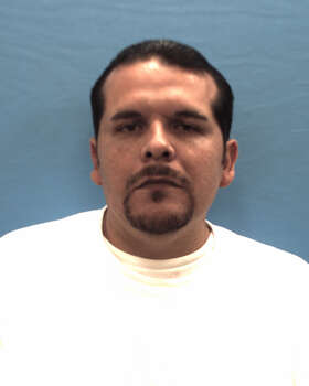 The Seguin Police Department arrested 20 people Monday during a warrant roundup that targeted accused members of the Mexican Mafia and Orejones gangs.PHOTO: Santos Perez, Jr., 34, charged with manufacture or delivery of a controlled substance Photo: Guadalupe County Jail Records, Courtesy