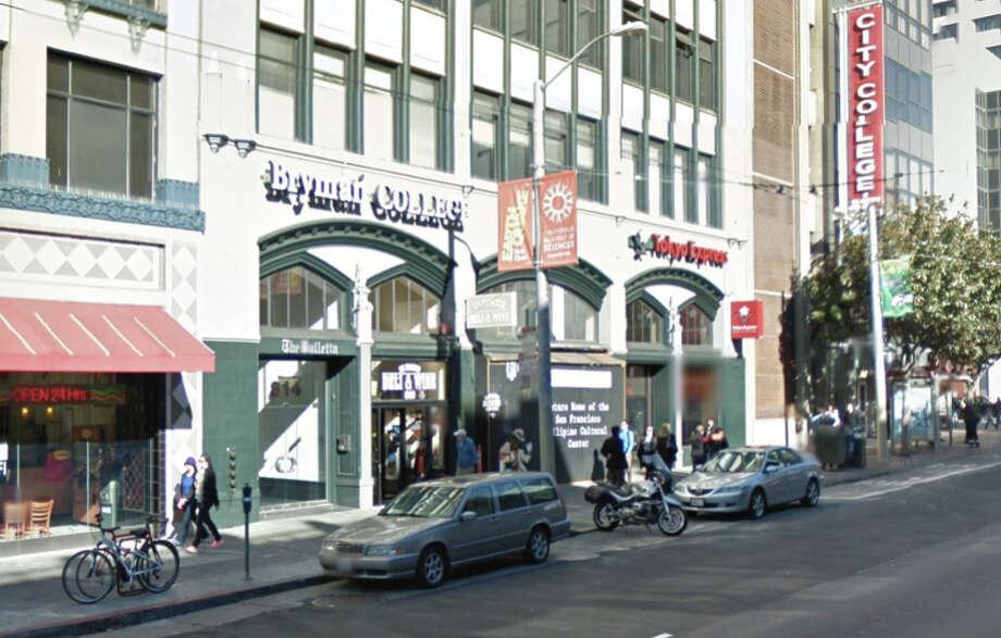 Bryman College on Mission Street in San Francisco. Photo: Google Maps