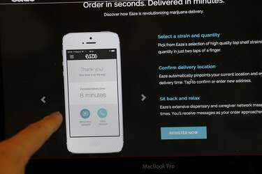Medical marijuana users link to delivery services with Eaze