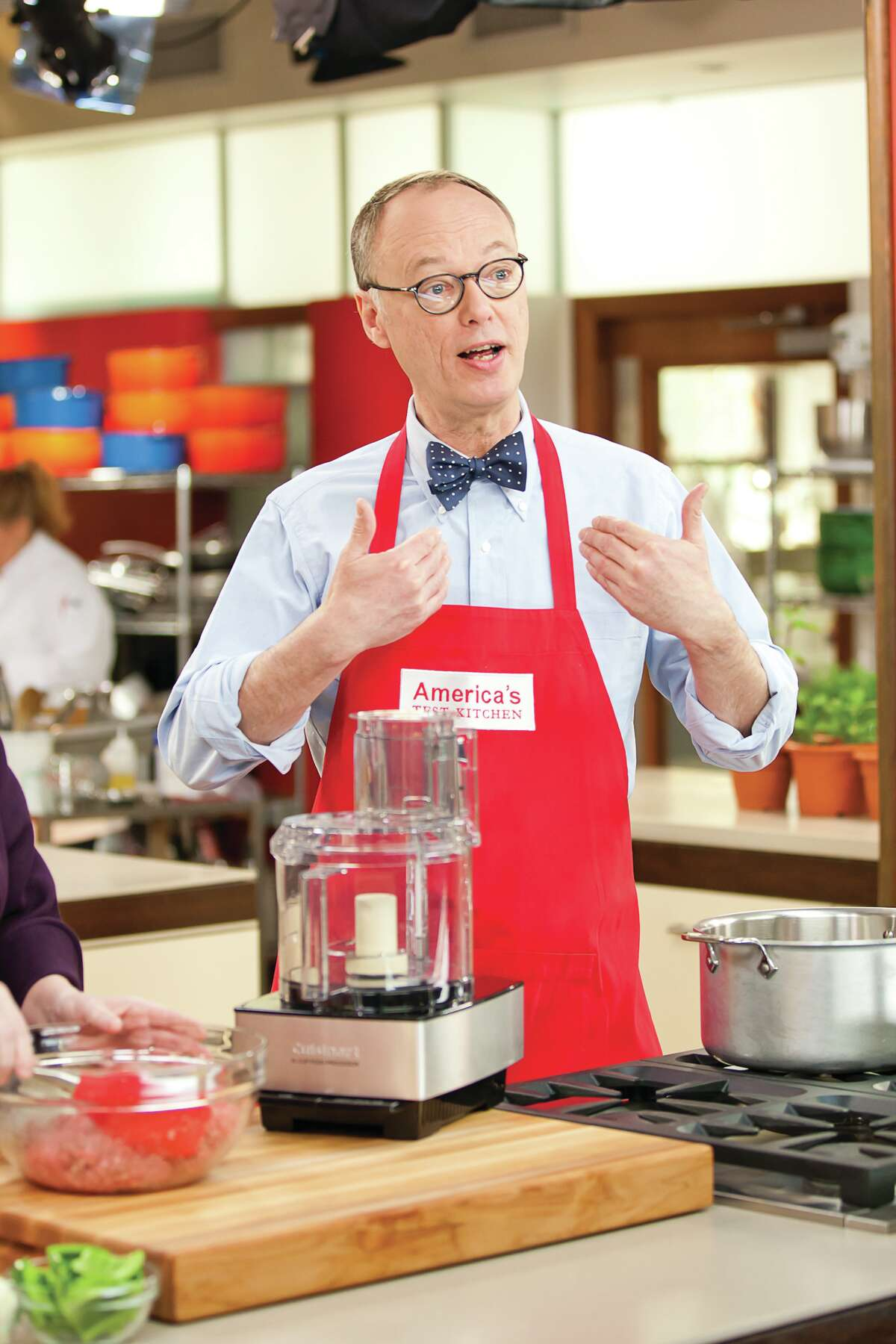 """Christopher Kimball is the founder and editor of """"Cook's Illustrated"""" and host of """"America's Test Kitchen"""" television and radio shows."""