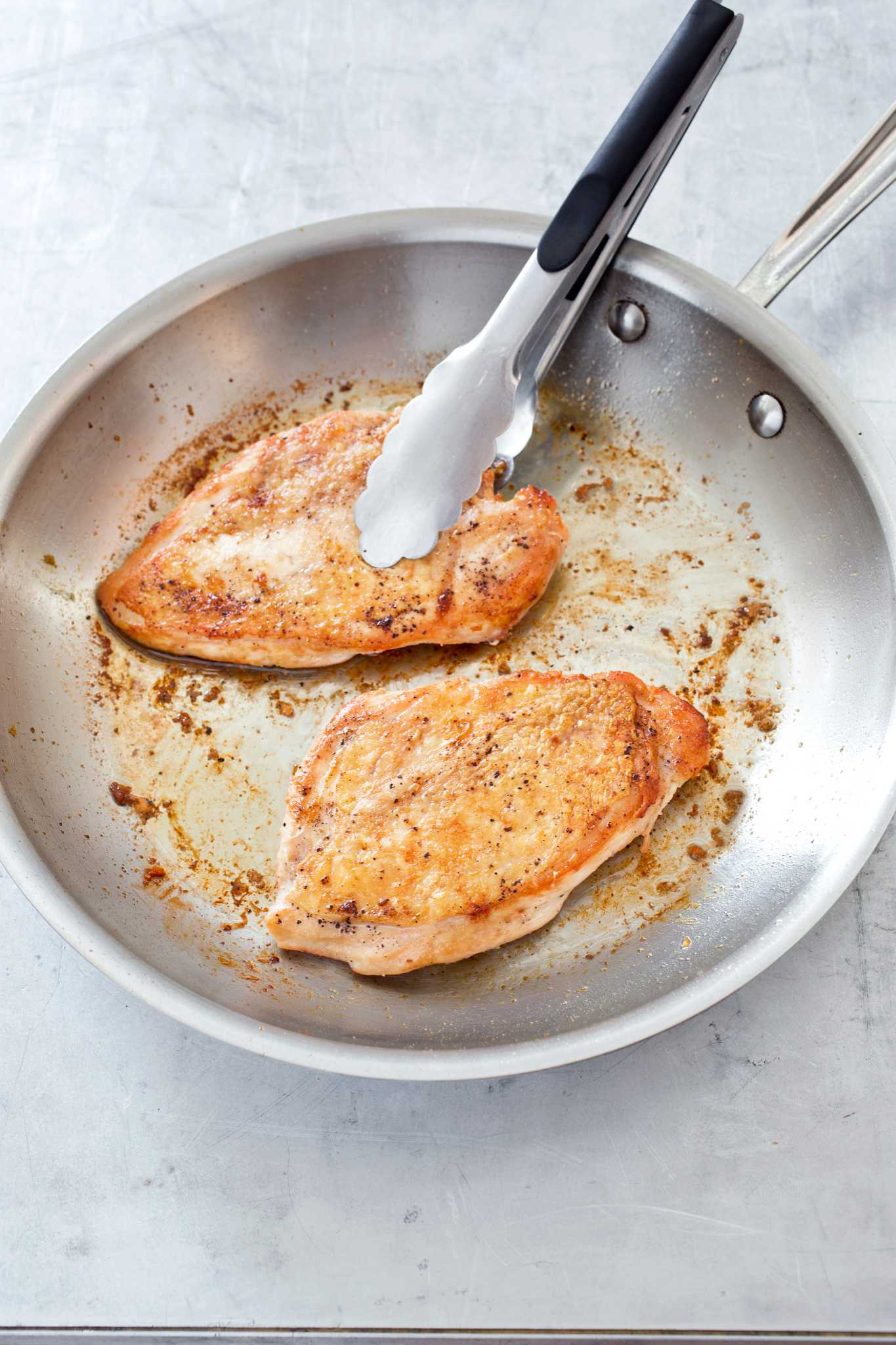 Recipe: Crispy Skinned Chicken Breasts With Vinegar Pepper Pan Sauce    Houston Chronicle