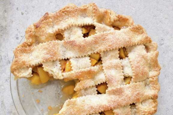 Fresh Peach Pie from America's Test Kitchen.