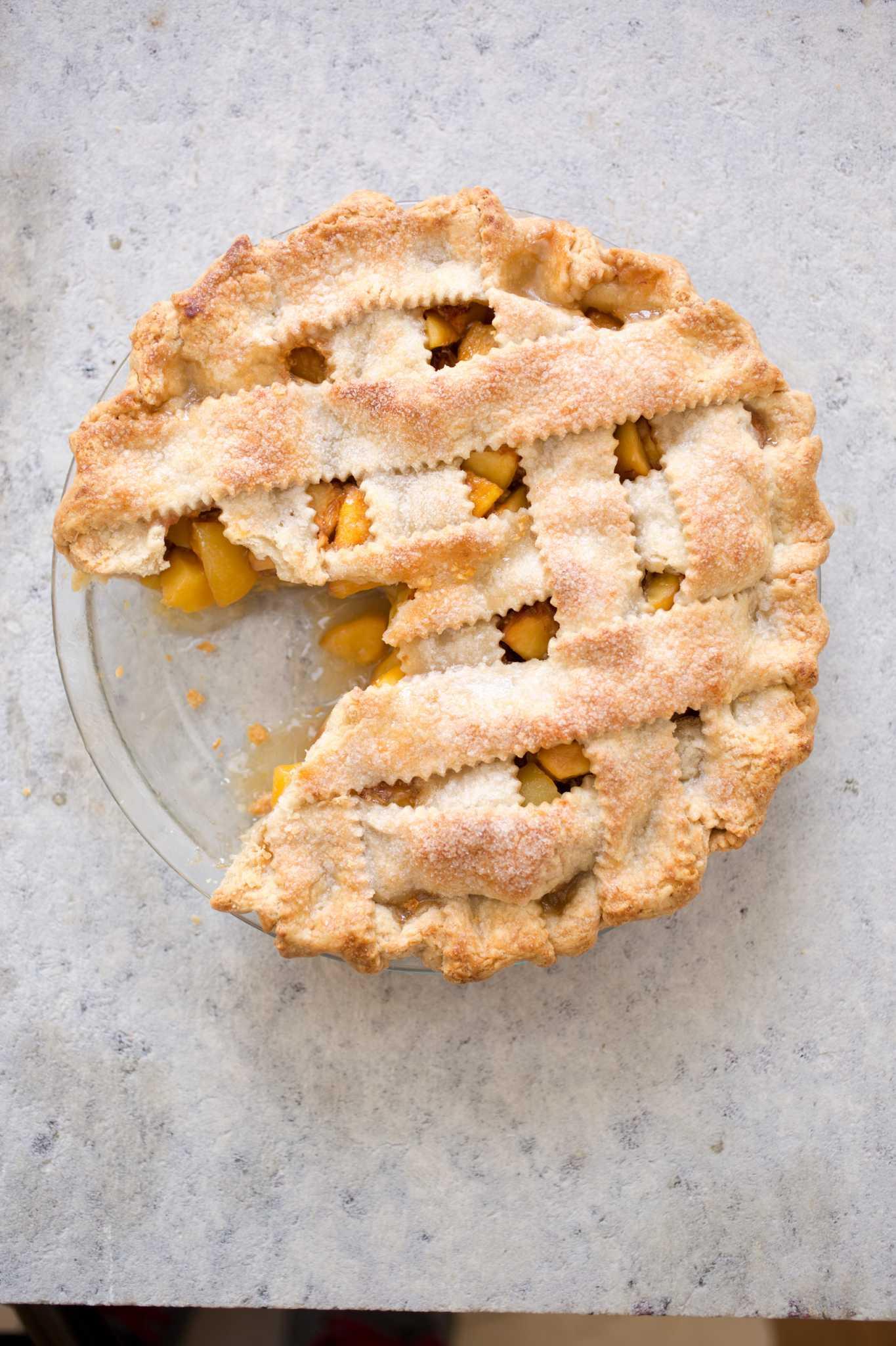 recipe pie dough for lattice top pie houstonchroniclecom - Americas Test Kitchen Apple Pie