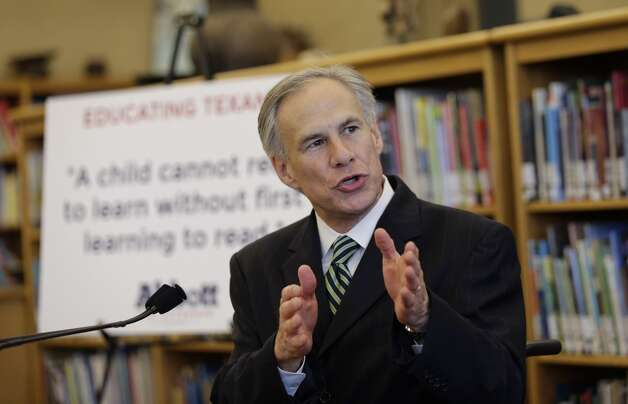 In this April 2, 2014 file photo, Attorney General and Republican gubernatorial candidate Greg Abbott speaks in San Antonio. Attorney General Greg Abbott has decided previ