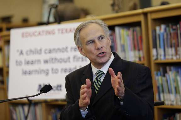 In this April 2, 2014 file photo, Attorney General and Republican gubernatorial candidate Greg Abbott speaks in San Antonio. Attorney General Greg Abbott has decided previously that the state doesn't have to disclose what potentially dangerous chemicals plants around Texas store. But he now clarifies that ordinary Texans are free to ask the plants on their own. (AP Photo/Eric Gay, File)